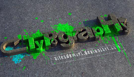 3D Typography2