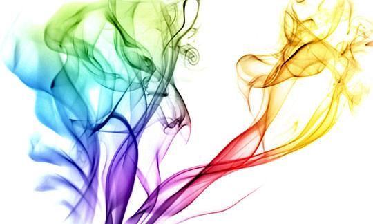 Chromatic Smoke Wallpaper by Aren Tan