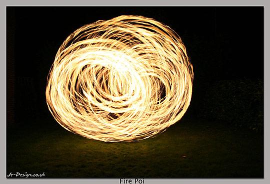 Fire Poi by Jacob Ellwood