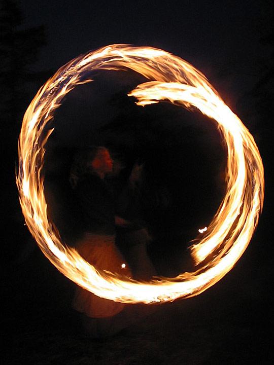 Fire image by Maija Haavisto