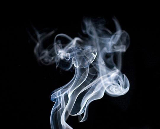 Smoke, or Snake's Head by Radek